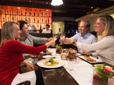 Restaurants, Biergärten und Cafés