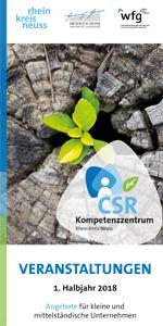 CSR Programmflyer 1. Halbjahr 2018