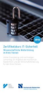 WFG Kreis Viersen - Zertifikatskurs IT-Sicherheit