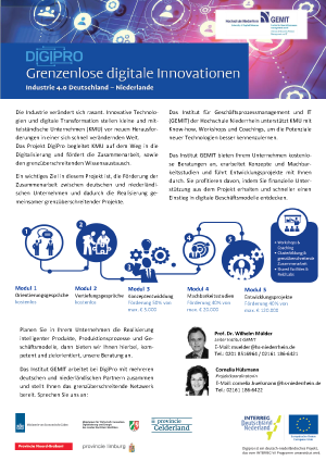 DigiPro – Grenzenlose digitale Innovationen