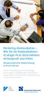 WFG Kreis Viersen - Marketing-Kommunikation